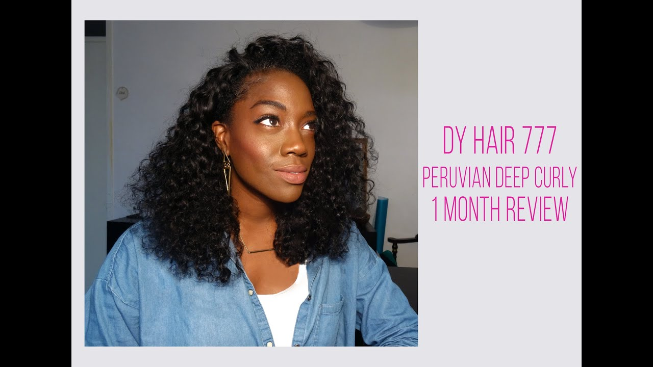 Dy Hair 777 Deep Curly 1 Month Review
