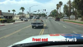 Front end alignment on Howard's 1964 Mustang Convertible - Day 14 - Part 5