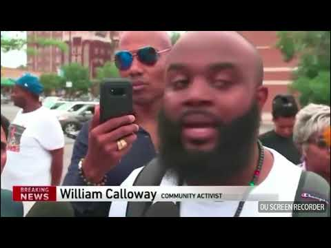 Breaking news Chicago PD respond to protest with Channel 9 News