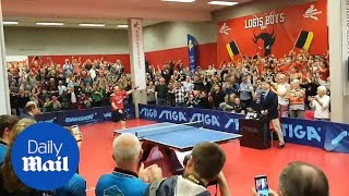 Table tennis legend scores EPIC final point before retiring