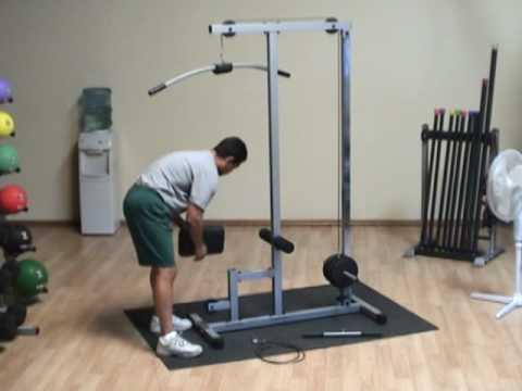 Body Solid Pro Lat Machine Glm83 Doovi