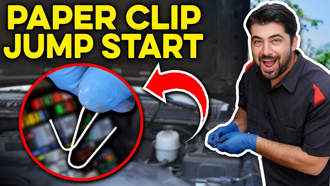 medium resolution of how to start a car with a paper clip not a hoax