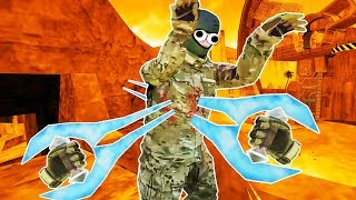 I Impale My Friends With Energy Swords in Pavlov VR Infection!