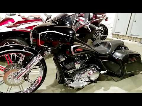 2017 CUSTOM HARLEY DAVIDSON MOTORCYCLE FOR SALE @ PHILADELPHIA CONVENTION CENTER CAR SHOW