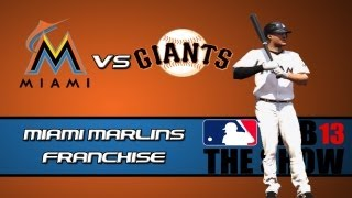 MLB 13 The Show Franchise Mode: Miami Marlins - Offense Leading The Way [Y2G78 EP15]