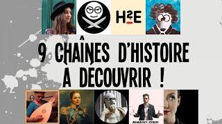 9 chaînes d'Histoire à découvrir !