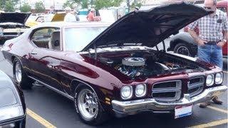 1972 Pontiac Lemans Test Drive and Burnout