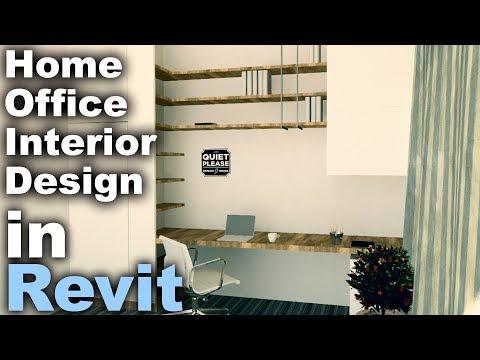 Home Office Interior Design in Revit Tutorial