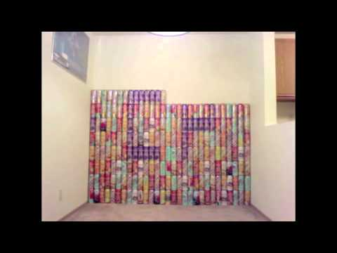 Arizona Iced Tea Wall (348 Cans)- Campus Park 2010-2011