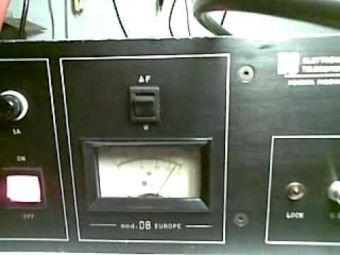 Trasmettitore  EXCITER FM 88 - 108  Db elettronica mod. EUROPA