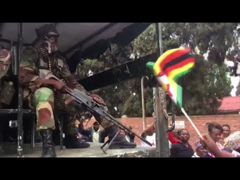 AFP news agency: Harare demo calls on Mugabe to quit