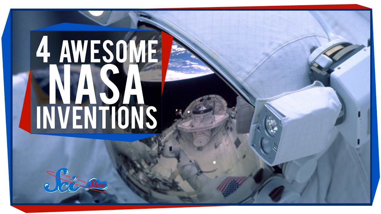 4 Awesome Nasa Inventions You Use Every Day Youtube