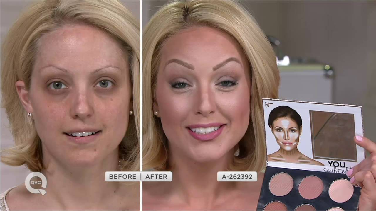 It Cosmetics You Sculpted Universal Contouring Palette W Brush On