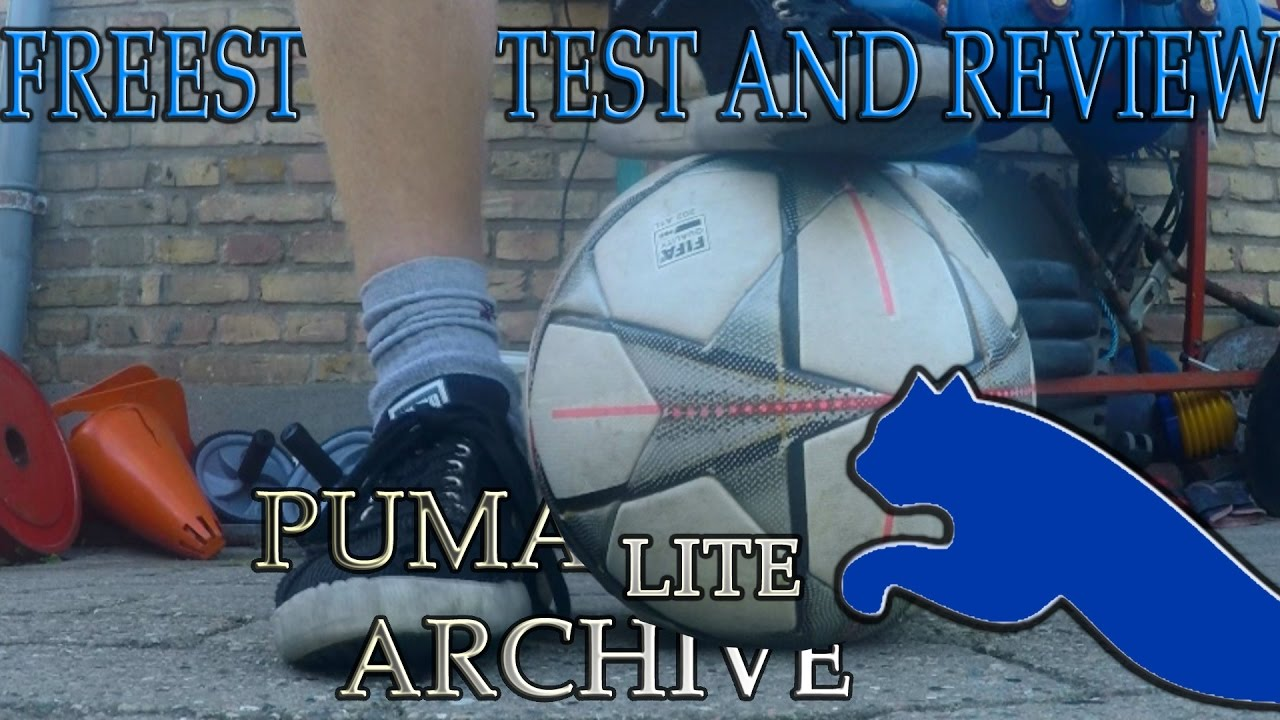 BEST FREESTYLE SHOES EVER!  Puma Archive Lite Test And Review! - YouTube 74eb04b64