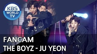 [FOCUSED] THE BOYZ's JUYEON - Right Here [Music Bank / 2018.09.28]