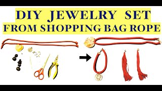 Hello Guys, In this video one of Shopping was broken so I decided to recycle the rope into a Jewellery Set, So here's the video. #DIYJewelryset #DIYjewelleryset ...