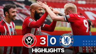 Sheffield United 3-0 Chelsea | Premier League highlights | McGoldrick double in huge EPL win!