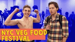 Nyc Veg Food Fest 2015 Feat. Miss Teen Usa & Vegan Zombie - Ep. 16