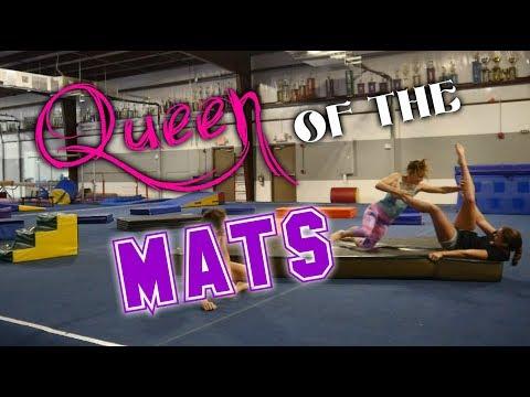 Queen Of The Mats Gymnastics Game| Rachel Marie