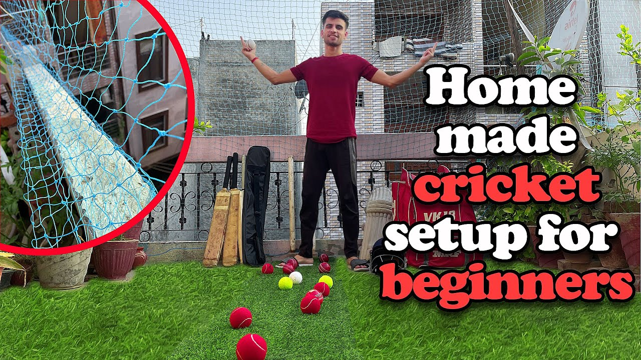 How to Set Cricket Net at Home !! Sab kuch Sirf Under Rs-900 😍
