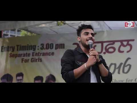 Armaan Bedil Live Performance    Mehfil 4    Punjabi University Patiala    Attizm