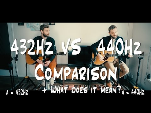 The Ultimate 432Hz VS 440Hz  CONSPIRACY + Comparison