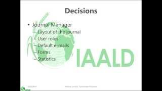 Open Journal System -From Print to Electronic: Using the Open Journal System to Publish an E-journal