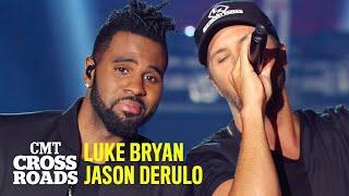 Luke Bryan & Jason Derulo 'That's My Kind of Night' | CMT Crossroads