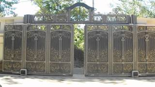 Sliding Gates -- The Opening Line Of Your Security (cast Iron, Bronze, Nickel Silver, Weight 3 Tons)