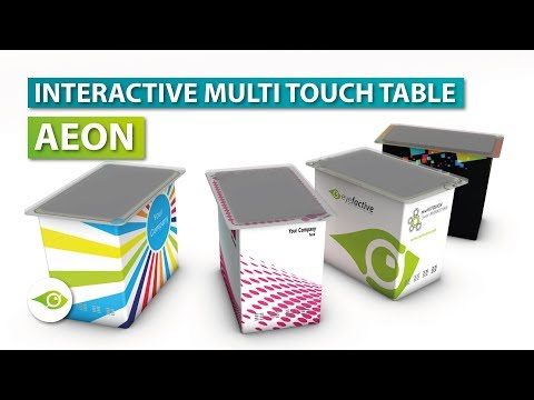 Interactive Multi Touch Table 👉 AEON