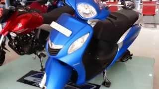 Yamaha Fascino Walkaround and colors