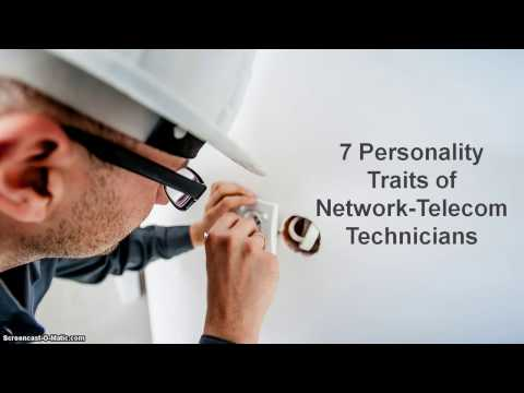 Network-Telecom Career Part 1:  Personality Traits