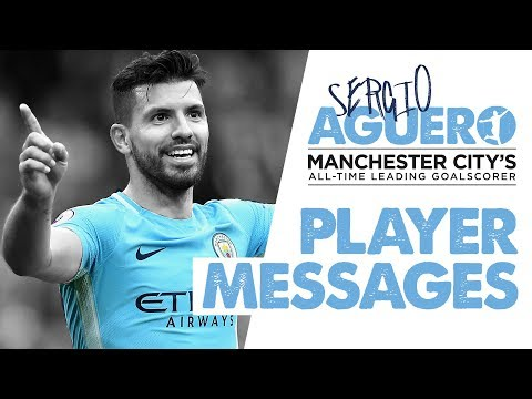 SERGIO BREAKS THE RECORD! | Players congratulate Aguero