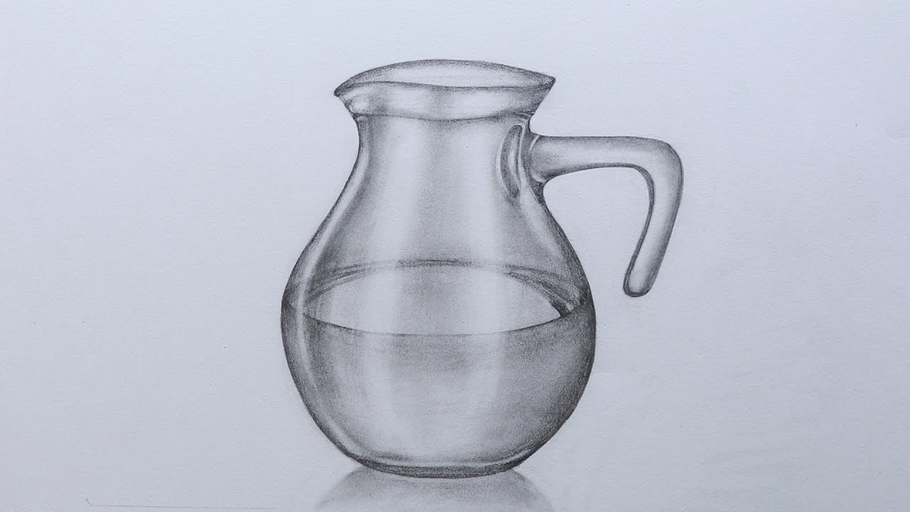 Pencil Sketch Jug