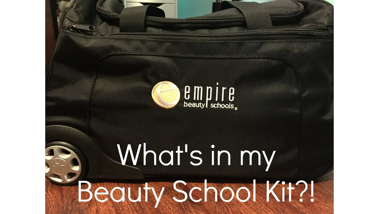What\'s in my Empire Beauty School Kit?! - YouTube