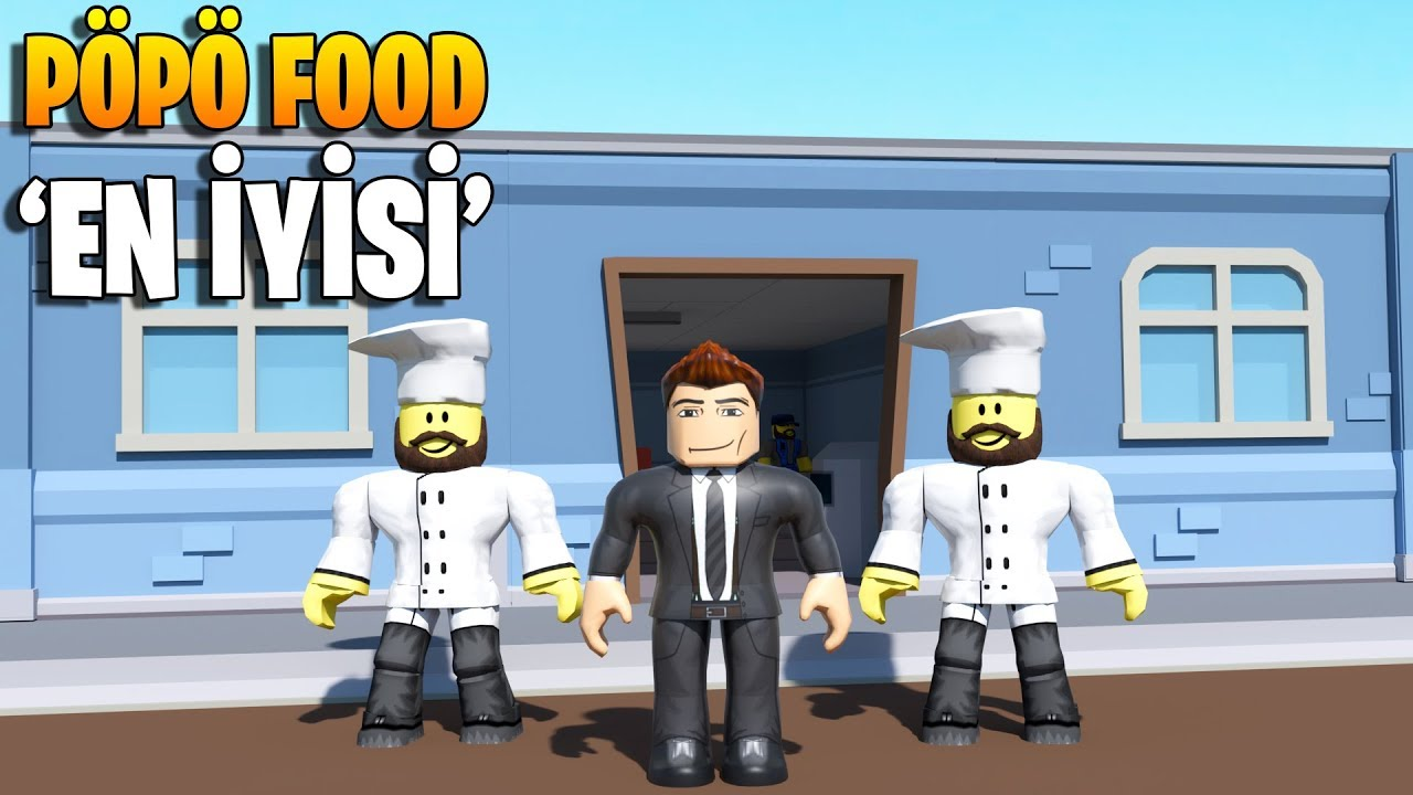 Yemek Pöpö Food'da Yenir! 🍹 | Fast Food Simulator | Roblox ...