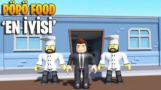 🍔 Yemek Pöpö Food'da Yenir! 🍹 | Fast Food Simulator | Roblox Türkçe