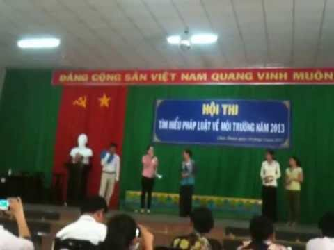 tiểu phẩm vệ sinh môi trường - nhóm kịch xã Phú An Hòa