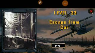 Expedition For Survival Level 33 ESCAPE FROM CAR Walkthrough Game Guide HFG ENA