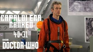 Doctor Who - Ranking Every Capaldi Episode! | 40-31