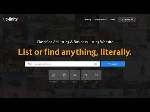 How to Make Classified Ads Listing Website like CraigsList OLX & JustDial with WordPress & Lisfinity