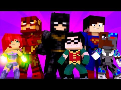 Minecraft : JOVENS TITÃS FORAM PRESOS PELA LIGA JUSTIÇA !! - ( Polícia e Ladrão)