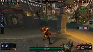 SMITE: Vulcan middle lane ult double kill in arena