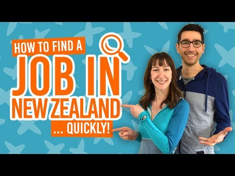 How to Find a Job in New Zealand... Quickly!