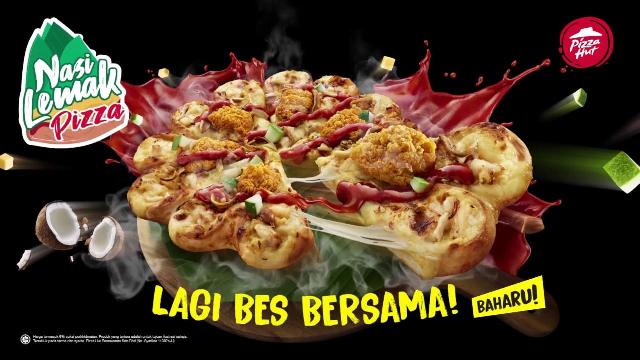 Pizza Hut Malaysia: Nasi Lemak Pizza Baharu
