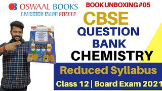 Book Unboxing 05 CBSE Question Bank CHEMISTRY Class 12 Oswaal Book For 2021 Exam