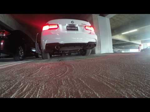 Repeat BMW M235i Cold Start and Warm Rev with Open Exhaust