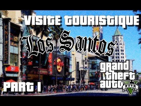 GTA 5 - Les 6 lieux à visiter à LOS SANTOS | Visite Touristique avec Kim (Part 1) |Xbox 360|