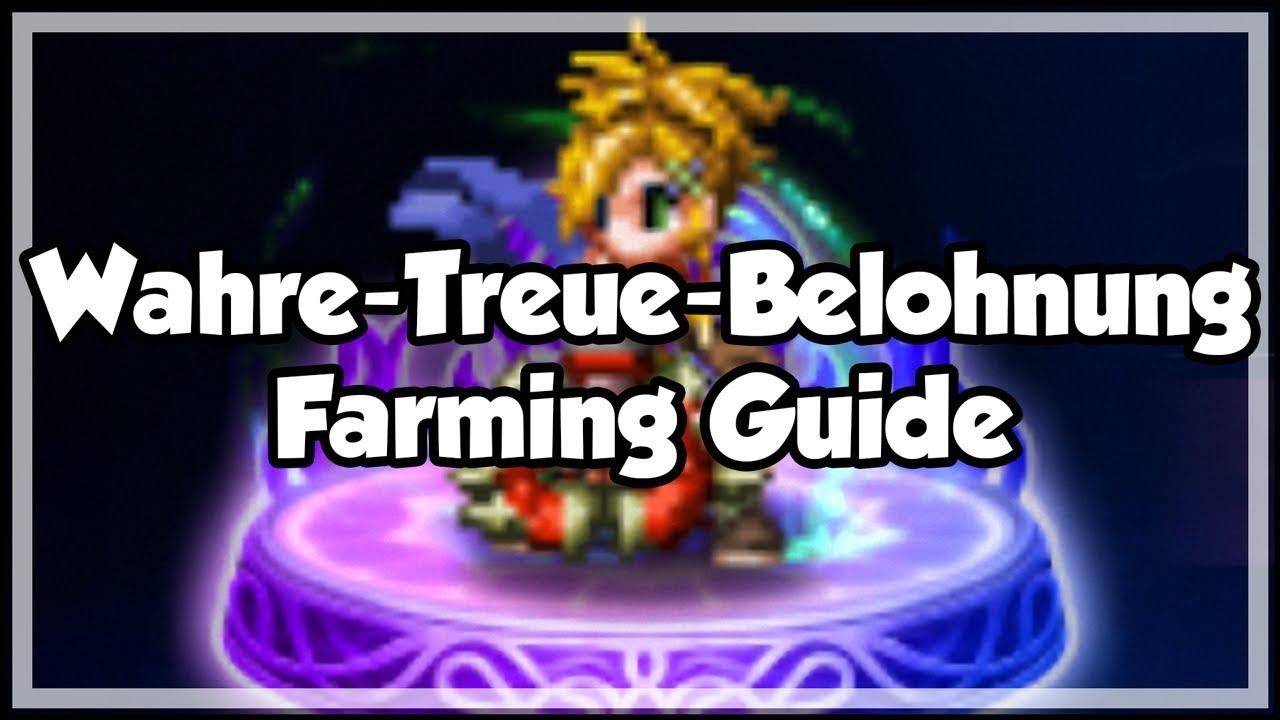 FFBE Final Fantasy Brave Exvius - Wahre-Treue-Belohnung (TMR) Farming Guide  - Deutsch by GermanFFBE