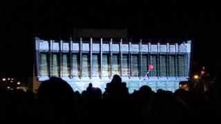 Луганск День города 07.09.13 лазерное шоу